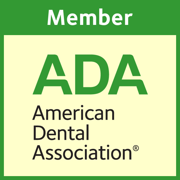 Member of American Dental Association Badge